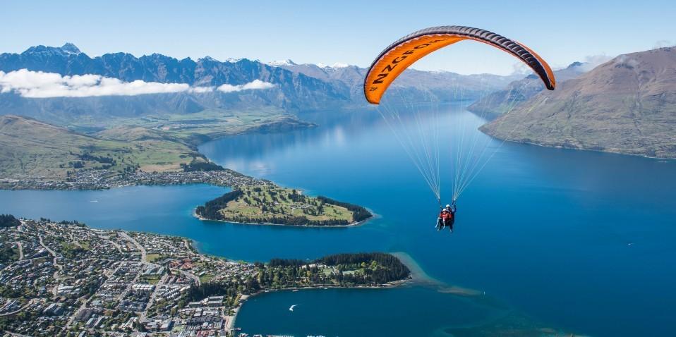 Paragliding - G Force Tandem Paragliding
