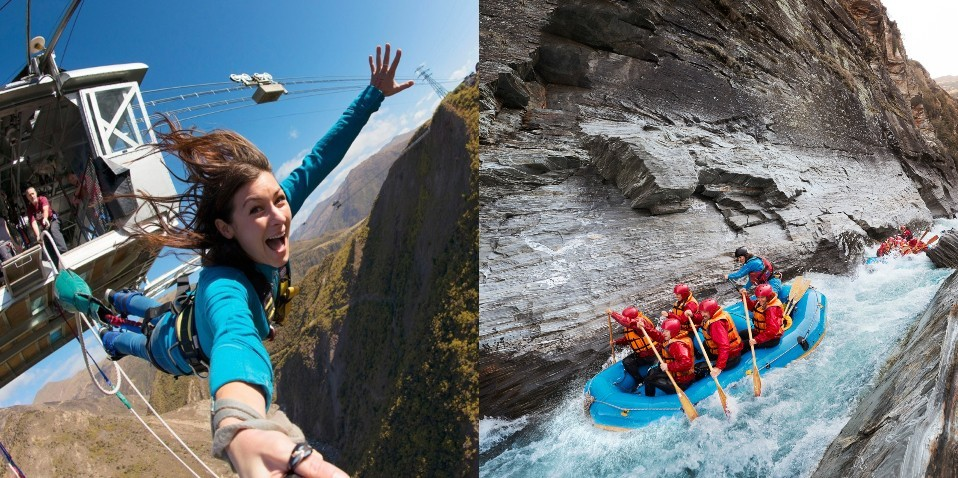 Nevis Bungy & Rafting Combo