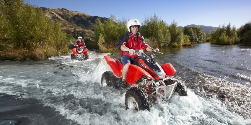 Quad Biking - Thrillseeker Adventures