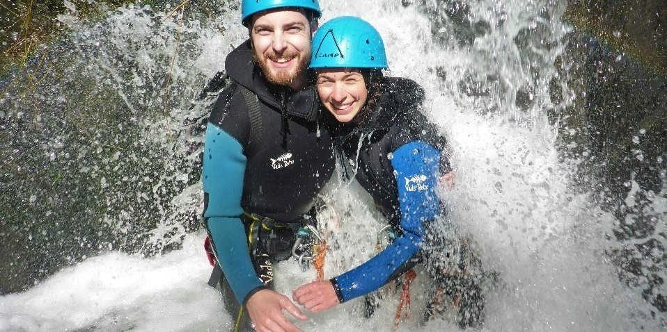 Canyoning - Gibbston Valley  Half Day Canyon