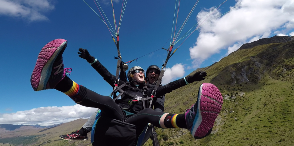 Paragliding Coronet Peak Tandems, Queenstown - Everything New Zealand