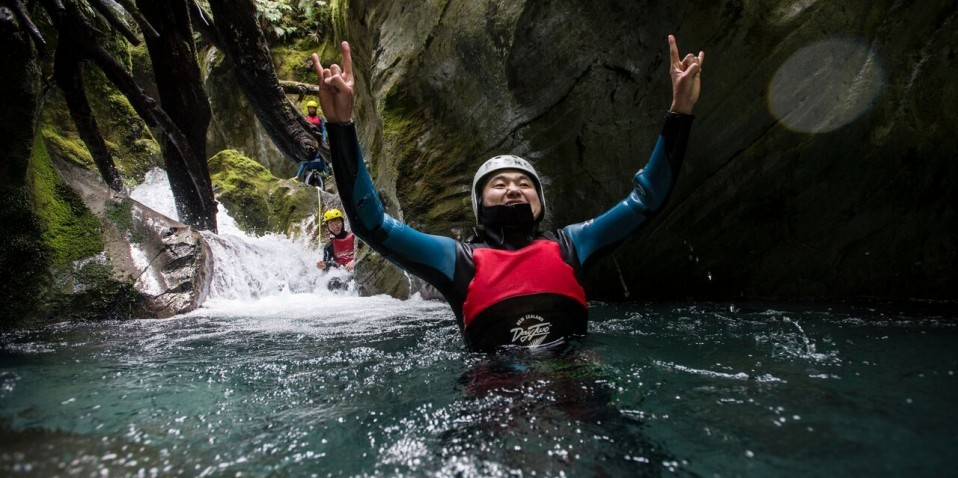 Canyoning Queenstown – Queenstown Adventurer