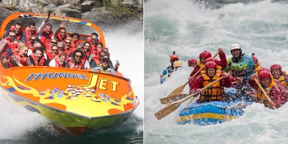 Raft & Jet Combo - Jet to Raft