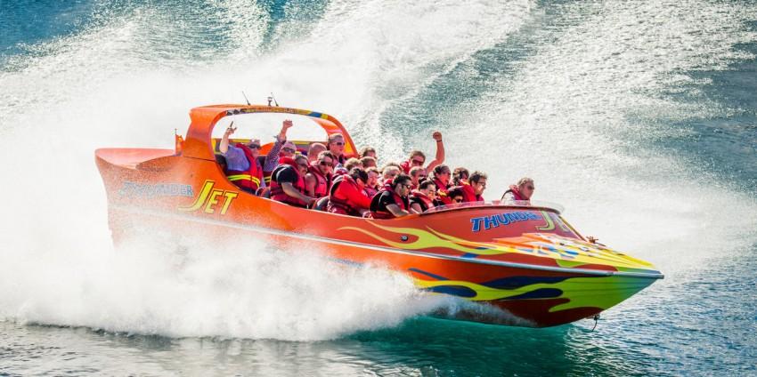 Jet Boat - Go Orange Jet Boat